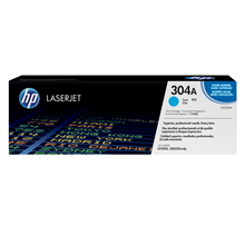 HP CC531A 304A Cyan LaserJet Toner Cartridge